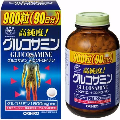 Viên Uống Bổ Xương Khớp Glucosamine Orihiro 1500mg 900 viên
