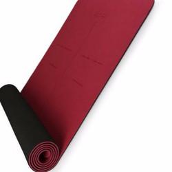 Thảm tập Yoga Hatha màu đỏ