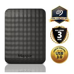 Ổ cứng di động Maxtor M3 Portable 1TB  + tặng kèm túi chống sốc