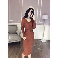 Đầm body 2 màu