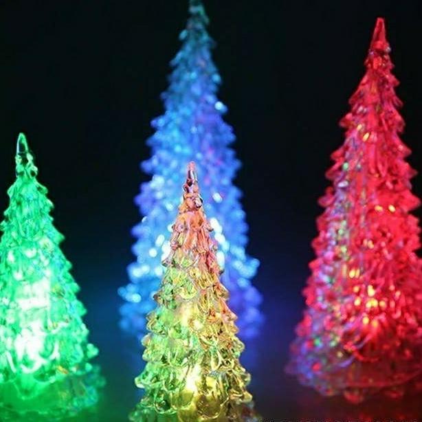 Đèn Led Cây Thông Noel -  Cao 22cm 2