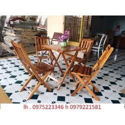 bàn ghế cafe quán nhậu bán tại nơi sản xuất