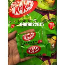 Bánh Kitkat trà xanh Nhật Date 08-2018 12 thanh