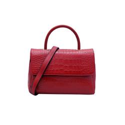 Túi xách nữ da bò thật cao cấp màu đỏ ET136