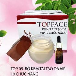 BỘ KEM TÁI TẠO DA VIP 10 CHỨC NĂNG - MỸ PHẨM TOPFACE