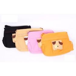 Cặp túi đeo chéo vải dành cho bé đi học và đi chơi
