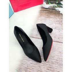 Giày cao gót bít mũi , công sở cao 5cm