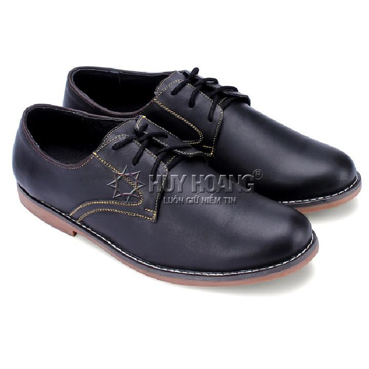 Giày nam thời trang màu đen 1