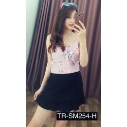 Áo kiểu hoa hai dây 254