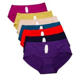 Combo 10 quần lót su không đường may đủ màu