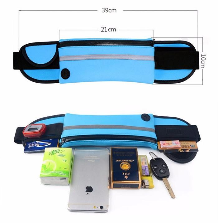 Túi đeo hông chạy bộ 2