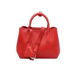 Túi xách nữ da bò thật cao cấp màu đỏ ET151