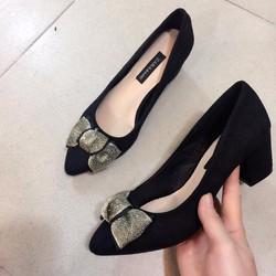 giày cao gót nơ 5p