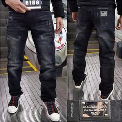Quần Jeans Nam Dollce Ống Suông mới HOT