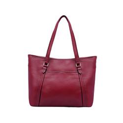 Túi xách nữ da bò thật cao cấp màu đỏ ET144