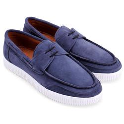 Giày mọi thể thao cột dây màu xanh đen