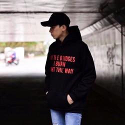 áo hoodie Light the way