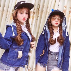 áo khoác nón nữ