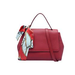 Túi xách nữ da bò thật cao cấp màu đỏ ET143