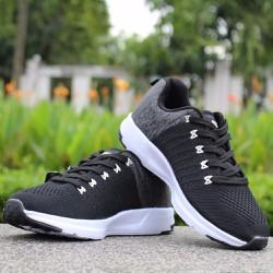 Giày nam xám đen
