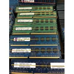 Ram 4G DDR3 bus 1600, 1333 dành máy bộ