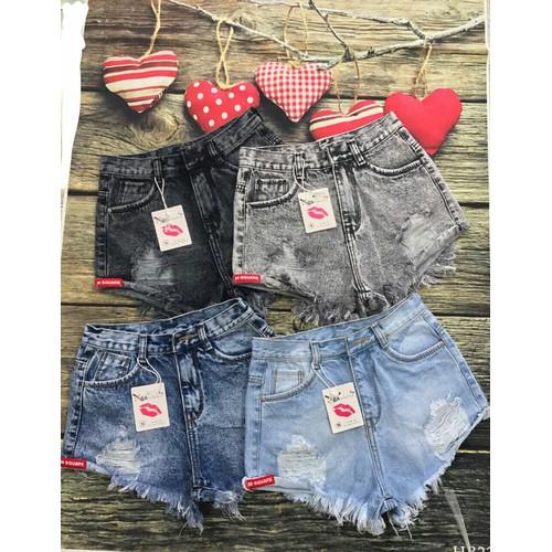 Quần short nữ jeans S525