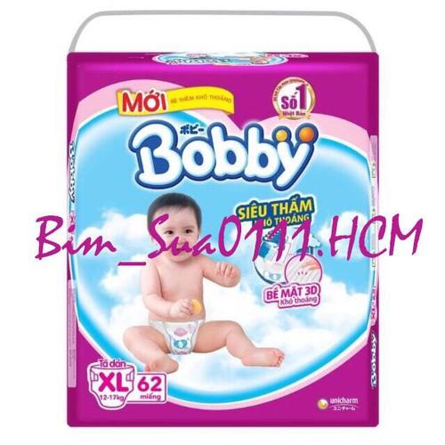 TÃ DÁN BOBBY XL62 mẫu mới trà xanh