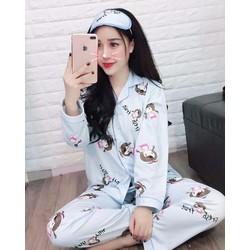 bộ pijama họa tiết