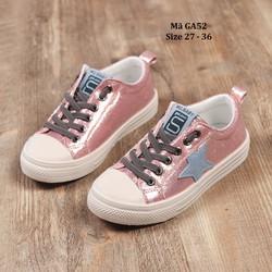 Giày bé gái 3 - 12 tuổi kiểu dáng thể thao và các tính GA52