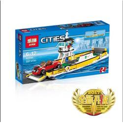 Lego mô hình bến phà trung chuyển ô tô