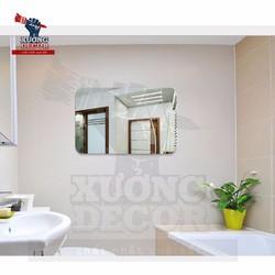 Miếng gương dán tường 42x27cm dầy 1mm Sáng rõ nét cực bền và an toàn