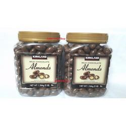 Chocolate Hạnh nhân - Kirkland - Mỹ
