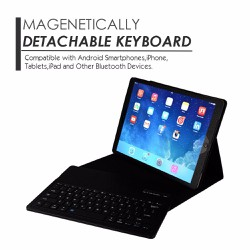 Bàn phím kiêm bao da Bluetooth cho iPad Air 2 và iPad Pro 9.7