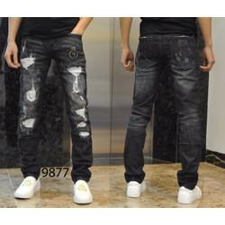 Quần Jeans rách DG Ống côn HOT