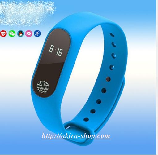 Vòng đeo tay thông minh M2-đo nhịp tim huyết áp 10