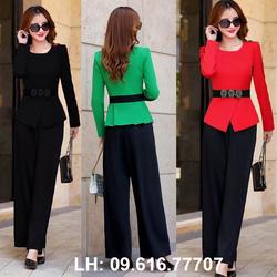 Set nữ  02 sản phẩm áo và quần dài