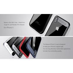 Ốp lưng iphone X hãng Baseus Suthin Case