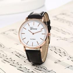 Đồng hồ đeo tay  dây da Geneva WF610131022
