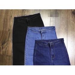 Quần jean lưng cao túi mổ