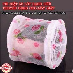 Combo 2 Túi Giặt Áo Lót Dạng Lưới Chuyên Dụng Cho Máy Giặt