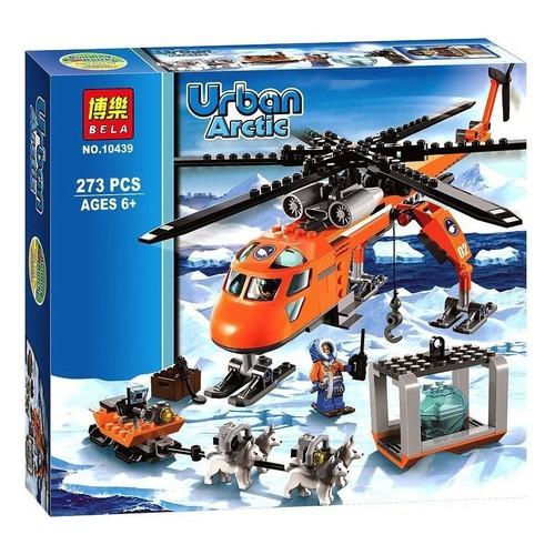 Lắp ráp mô hình trực thăng cứu hộ vùng Bắc Cực 273 khối BELA10439