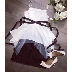Set áo và váy ren