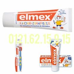 Kem đánh răng trẻ em Elmex 50ml xách tay Đức cho bé từ 1-6 tuổi
