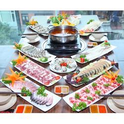 Buffet Lẩu ăn thả ga tại Nhà hàng Buffet BBQ  Hot Pot Hong Kong New  The Artemis Trường Chinh