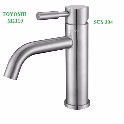 Vòi lavabo nóng lạnh TOYOSHI inox 304 - 4953900 , 7610957 , 15_7610957 , 560000 , Voi-lavabo-nong-lanh-TOYOSHI-inox-304-15_7610957 , sendo.vn , Vòi lavabo nóng lạnh TOYOSHI inox 304