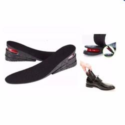 Bộ 2 Lót giày tăng chiều cao bí mật đệm khí cả bàn 3 lớp 7cm