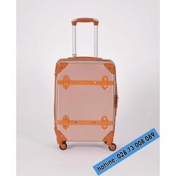 Vali kéo du lịch màu hồng size 20 inches