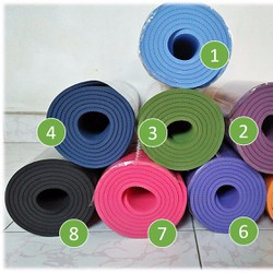 Thảm Yoga giá tốt - chất lượng - tặng túi đựng thảm