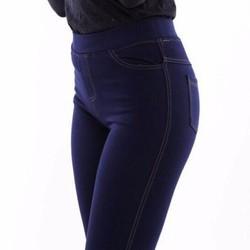 Quần Legging Bigsize giả jean 4 túi có size 5XL cho bạn dưới 86kg