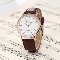 Đồng hồ đeo tay  dây da Geneva WF610241023